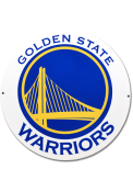 Golden State Warriors 12 Steel Logo Sign