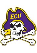 East Carolina Pirates 12 Steel Logo Sign
