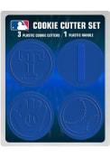 Texas Rangers 4pk Cookie Cutters