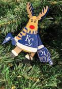 Kansas City Royals Cheering Reindeer Ornament