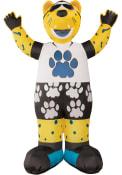 Jacksonville Jaguars Yellow Outdoor Inflatable 7 Ft Team Mascot