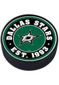 Dallas Stars Established Textured Hockey Puck