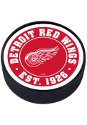 Detroit Red Wings Established Textured Hockey Puck