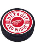 Detroit Red Wings Gear Textured Hockey Puck