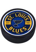 St Louis Blues Gear Textured Hockey Puck