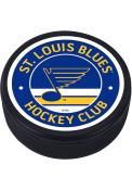St Louis Blues Vintage Textured Hockey Puck