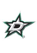 Sports Licensing Solutions Dallas Stars Color Car Emblem - Green