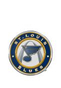 Sports Licensing Solutions St Louis Blues Color Car Emblem - Blue