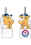Texas Rangers Team Mascot Ornament