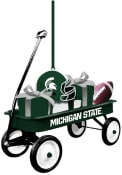 Michigan State Spartans Team Gift Wagon Ornament
