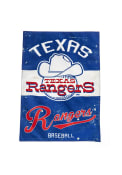 Texas Rangers Vintage Linen Garden Flag