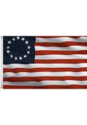 Philadelphia Red Silk Screen Grommet Flag