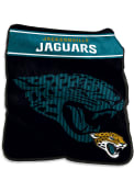 Jacksonville Jaguars Team Logo Raschel Blanket