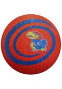 Kansas Jayhawks Swirl 8.5 Inch Playground Ball
