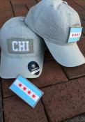 Chicago Top of the World Breakaway Adjustable Hat - Grey