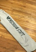 Michigan State Spartans Champion Down Sweatpants - Grey
