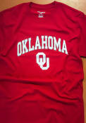 Champion Oklahoma Sooners Crimson Arch Mascot Tee