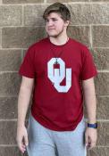 Champion Oklahoma Sooners Crimson Big Logo Tee