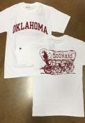 Champion Oklahoma Sooners White Rally Loud Tee
