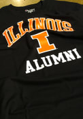 Champion Illinois Fighting Illini Navy Blue Alumni Tee