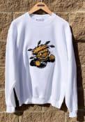 Wichita State Shockers Champion Big Logo Crew Sweatshirt - White