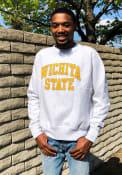 Wichita State Shockers Champion Reverse Weave Crew Sweatshirt - Grey