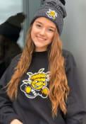 Wichita State Shockers Champion Reverse Weave Crew Sweatshirt - Black