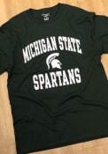 Michigan State Spartans Champion #1 Design T Shirt - Green