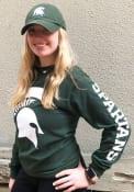 Michigan State Spartans Champion Helmet T Shirt - Green