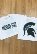 Champion Michigan State Spartans White Rally Loud Tee