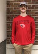Champion Dayton Flyers Red Athletic Long Sleeve Tee Tee