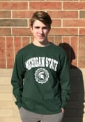 Champion Michigan State Spartans Green Official Seal Tee