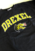 Drexel Dragons Champion Arch Mascot Crew Sweatshirt - Navy Blue