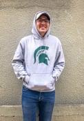 Michigan State Spartans Champion Big Logo Hooded Sweatshirt - Grey