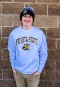 Wichita State Shockers Champion Arch Mascot Crew Sweatshirt - White