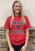 Drury Panthers Champion #1 Design T Shirt - Red
