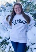 Detroit Wordmark Crew Sweatshirt - Grey