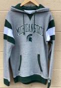 Michigan State Spartans Champion Super Fan Pullover Hooded Sweatshirt - Grey