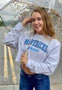Kansas City Mavericks Womens Champion Reverse Weave Crew Sweatshirt - Grey