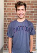Dayton Flyers Champion Arch T Shirt - Charcoal