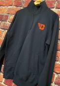 Dayton Flyers Champion Fleece 1/4 Zip Pullover - Navy Blue