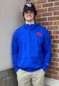 Dayton Flyers Champion Fleece 1/4 Zip Pullover - Blue