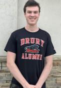 Drury Panthers Champion Alumni T Shirt - Black