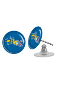 Drexel Dragons Womens Domed Post Earrings - Blue