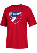 Adidas FC Dallas Red Striker Tee