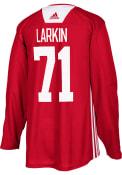 Dylan Larkin Detroit Red Wings Adidas Practice Hockey Jersey - Red