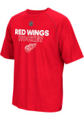 Adidas Detroit Red Wings Red Authentic Ice Tee