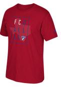 Adidas FC Dallas Red Framed Fashion Tee