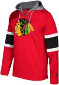 Chicago Blackhawks Adidas Platinum Jersey Hood - Red