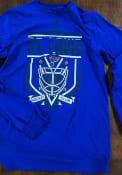St Louis Blues Adidas Go-To III T Shirt - Blue